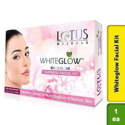 Lotus Herbals Whiteglow Insta Glow 4 In 1 Facial Kit