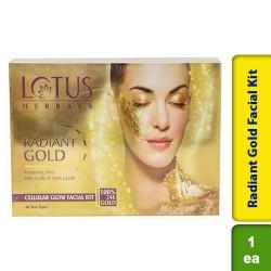 Lotus Radiant Gold Facial Kit