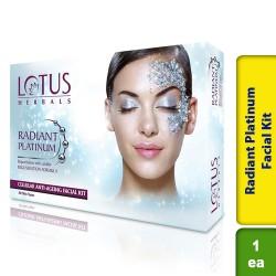 Lotus Radiant Platinum Facial Kit