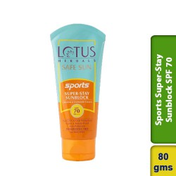 Lotus Safe Sun Sports Super Stay Sunscreen SPF 70