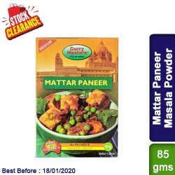 Mattar Paneer Masala Powder Curry Masters - Clearance Sale