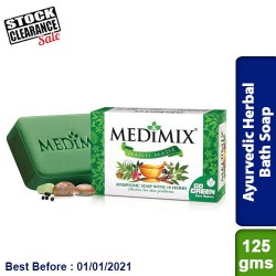 Medimix Ayurvedic Herbal Soap 125g - 18 herbs Clearance Sale