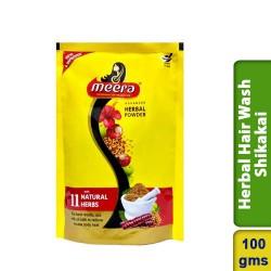 Meera Herbal Hair Wash Shikakai Pouch 100g