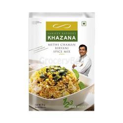 Methi chaman Biryani Spice Mix Sanjeev Kapoor Khazana