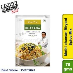 Methi chaman Biryani Spice Mix Sanjeev Kapoor Khazana Clearance Sale