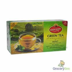Mint Green Tea Wagh Bakri