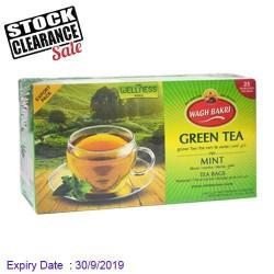 Mint Green Tea Wagh Bakri - Clearance Sale