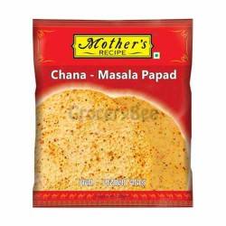 Mother's Channa Masala Papad