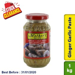 Mother's Ginger Garlic Paste Clearance Sale