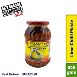 Mother's Lime Chilli Pickle Clearance Sale