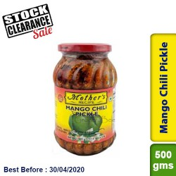 Mother's Mango Chili Pickle Clearance Sale