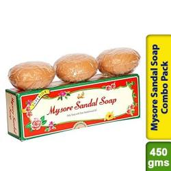 Mysore Sandal Soap Combo Gift Pack 450g