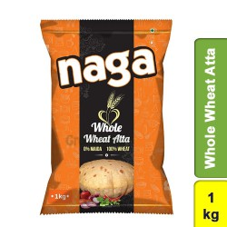 Naga Whole Wheat Atta 1Kg