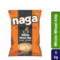 Naga Whole Wheat Atta 5Kg