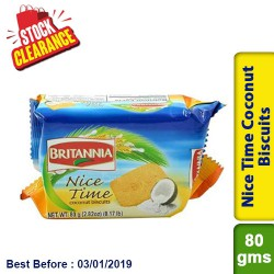 Nice Time Coconut Biscuits Clearance Sale
