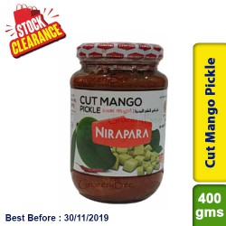 Nirapara  Cut Mango Pickle Clearance Sale