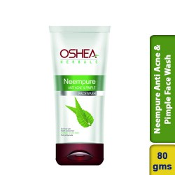 OSHEA Neempure Anti Acne & Pimple Face Wash 80g