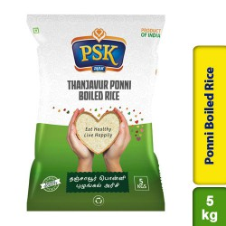 PSK Thanjavur Ponni Boiled Rice 5Kg