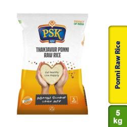 PSK Thanjavur Ponni Raw Rice 5kg
