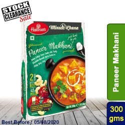 Paneer Makhani Haldirams 300g Ready to Eat Clearance Sale