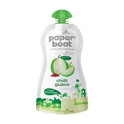 Chilli Guava Juice Paper Boat