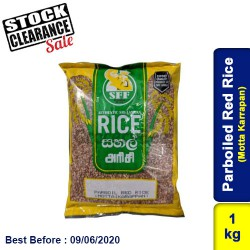 Parboiled Red Rice (Motta Karrapan) Clearance Sale