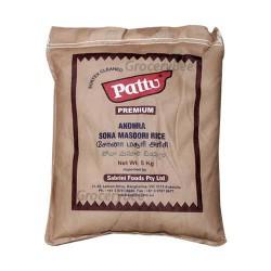 Pattu Andhra Sona Masoori Rice 5kg
