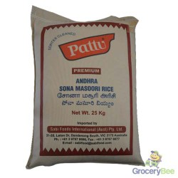 Pattu Sona Masoori Rice 25kg