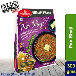 Pav Bhaji Haldirams 300g Ready to Eat Clearance Sale