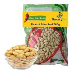 Peanut Blanched 500g M&J