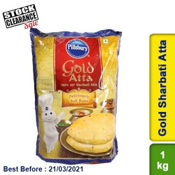 Pillsbury Gold Atta 1kg Clearance Sale