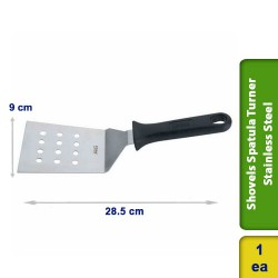 Pizza Shovels Spatula Turner Perforated Stainless Steel