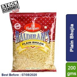 Plain Bhujia Haldirams 200g Clearance Sale