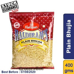 Plain Bhujia Haldirams 400g Clearance Sale