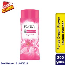 Ponds Dream Flower Talcum Powder 200g Clearance Sale