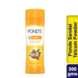 Ponds Sandal Talc Pond's Sandalwood Talcum Powder Natural Sunscreen