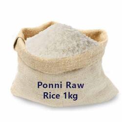 Ponni Raw Rice 1kg