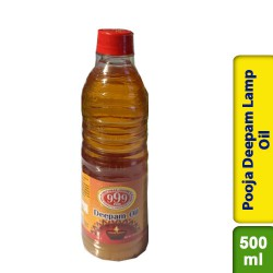 Pooja Deepam Lamp Diya Oil Puja 500ml