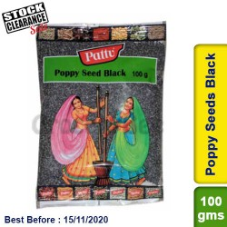 Poppy Seeds Black Clearance Sale