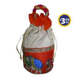 Potli Bag 1 Orange