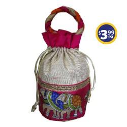 Potli Bag 1 Pink