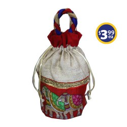 Potli Bag 1 Red