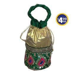 Potli Bag 2 Green