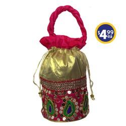 Potli Bag 2 Pink