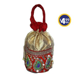 Potli Bag 2 Red