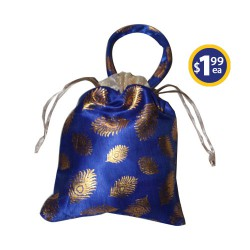 Potli Bag 3 Blue