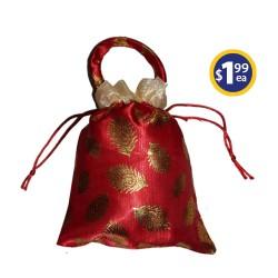 Potli Bag 3 Maroon