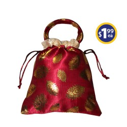 Potli Bag 3 Red