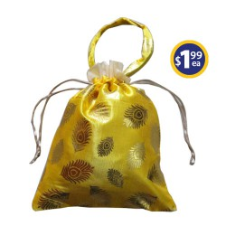 Potli Bag 3 Yellow