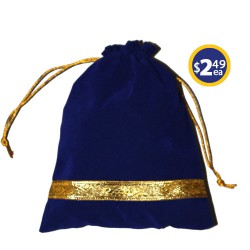 Potli Bag 5 Navy Blue